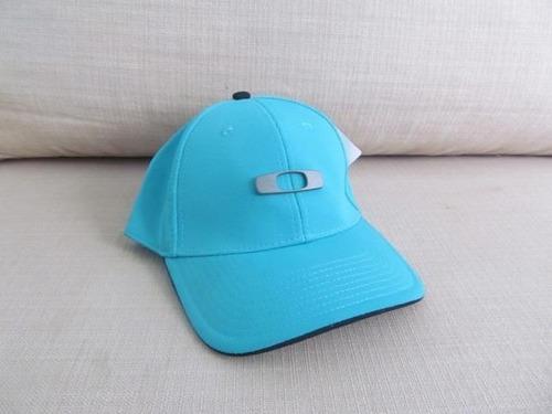 c27232575a Boné Oakley Gascan Azul Bebê Primeira Linha S/m (Masculino) a BRL ...