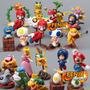 Boneco Super Mario Bros Coleção Miniatura Mario Mini Luigi