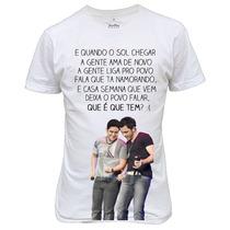 Camiseta Ou Baby Look Jorge E Mateus Musica