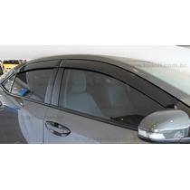 Defletor De Chuva Novo Corolla Sedan 2015 4 Portas Tgpoli