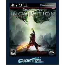 Dragon Age Inquisition Ps3 Código Psn Pré-venda