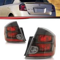Lanterna Traseira Nissan Sentra 07 08 09 10 11 12 13 Fumê