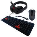 Kit Gamer Teclado Abnt2 + Mouse 1200dpi + Fone Headset Boas