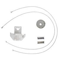 Kit Reparo Vidro Eletrico Focus Traseiro Lado Esquerdo