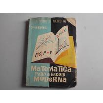 Livro Matemática Para A Escola Moderna - Frete Gratis