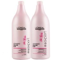 Loréal Kit Vitamino Color Shampoo 1,5l + Condicionador 1,5l