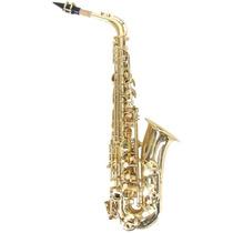 Harmony Sax Saxofone Alto Com Case - Frete Grátis