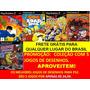 Jackie Chan + Simpsons + Dbz + Padrinhos Mágicos+ Scooby Doo