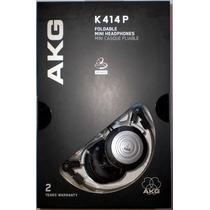 Fone Akg K414p Original   Akg K414   1 Ano De Garantia + Nfe