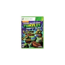Jogo Teenage Mutant Ninja Turtles Danger Of Ooze Xbox 360