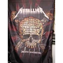 Metallica Bandeira Metallica Banda Rock Heavy Metal