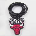 Colar Em Madeira Good Wood - Chicago Bulls - Em Estoque