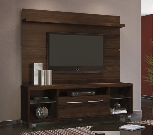 Sala De Tv Com Rack Amarelo ~ Rack Bancada Com Painel Personale Sala Tv Até 60 Mocaccino  R$ 899