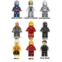 Iron Man Homem De Ferro Padrão Lego Stark Mk Heróis War Mach