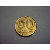 Moeda Brasileira Antiga - 50 Centavos 1945