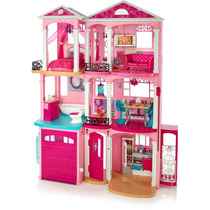 Casa Casinha De Bonecas Da Barbie Dream House