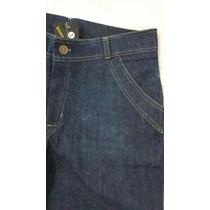 Shorts Jeans C/ Elastano E Barra Desfiada