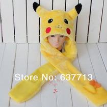 Gorro Touca Pokemon Pikaxu Frete Gratis Cosplay