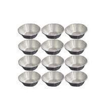 36 Micro Formas Empada Alumínio 2,3x1,2cm Numero 00