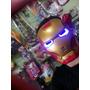Máscara Homem De Ferro Que Acende Ironman Avengers