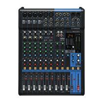 Mesa De Som Analógico Mixer Com 12 Canais Mg12xu - Yamaha