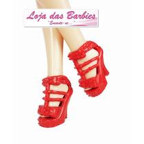 Sapato De Luxo Para Barbie * Original Mattel * Sandália
