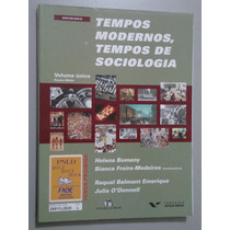 Livro Tempos Modernos, Tempos De Sociologia Vol. Único