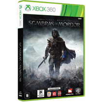Shadow Of Mordor Sombras De Mordor Xbox 360 Portugues
