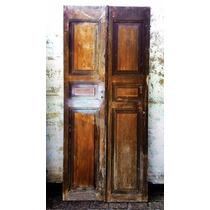 Porta 2 Folhas Madeira Cedro