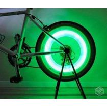 10 Bicos Neon Pneu Carro Moto E Bike Dez Peças Sem Bateria