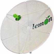 Antena Chapa Parabolica 1.35 Mts Lemon