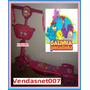 Patinet Infantil 3 Rodas Galinha Pintadinha Rosa Luz/musical