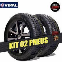 Pneu 185 60 R14 Pirelli Vipal Remold Tec Italiana (kit 2)