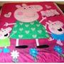 Cobertor Manta Infantil Peppa Pig - Anti Alérgica