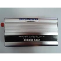 Inversor 600w Transformador 12v P/110 127 Veicular Conversor