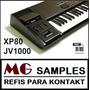 Kontakt Samples Nki Roland Xp80 + Jv1000 Completo + Brindes