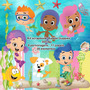 Scrapbook Digital Bubble Guppies-frete Gratis