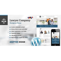 Site Advogado Tema Lawyer ¿ Multi-purpose Adaptive Wordpress