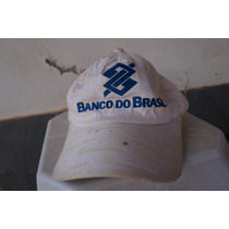 Bone Promocional Antigo (banco Do Brasil)