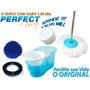 Balde Centrifuga Perfect Mop 360º Com 3 Refis Mop Alho Mill