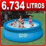 Piscina Inflável Easy Set 6734 Litros Intex - Pronta Entrega
