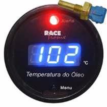 Medidor Temperatura Óleo Digital Az Racetronix Motor +sensor