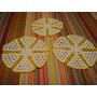 Lote 3 Panos Paninhos Quarto Cozinha Croche Branco Amarelo