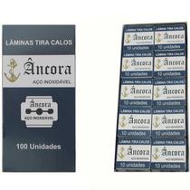 Lâminas Tira Calos Âncora Caixa Com 100 Unidade ( Oferta!! )