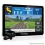Gps Aquarius 7 Polegadas Tv Digital Câmera Ré E Aviso Radar