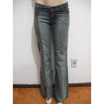 Calça Jeans Fato Básico Tam 38 Bom Estado Zíper Perna