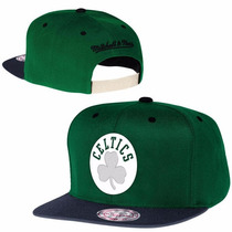 Boné Importado New Era Boston Celtics Mitchell & Ness Usa