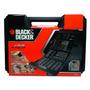 Jogo 129pcs Brocas E Pontas A7211-xj - Black Decker
