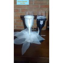 Taças Personalizadas Para Brinde Dos Noivos