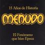 Cd Menudo Duplo 15 Anos De Historia - 30 Faixas 1998 Raro